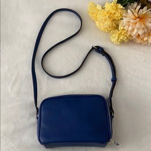 Sole Society Cobalt Spring Crossbody Bag
